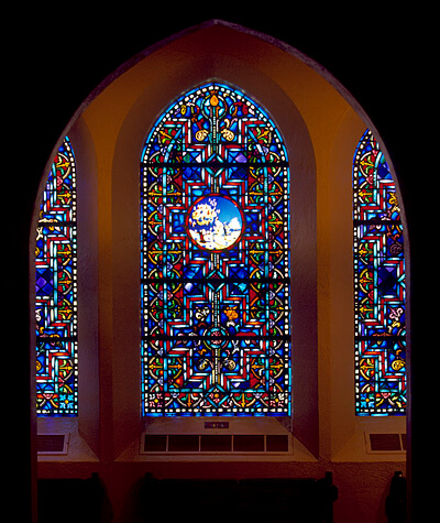 Danforth Chapel Window